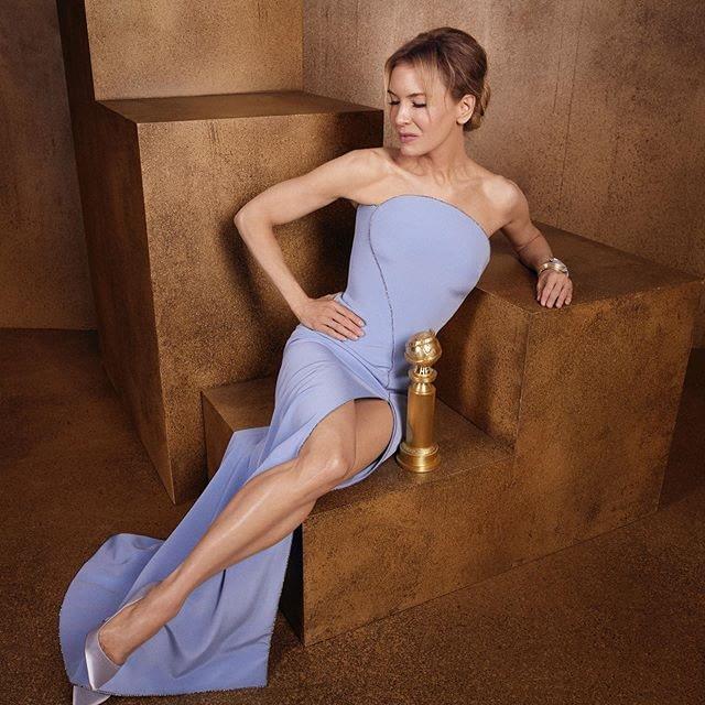 Renée Zellweger golden globe 2020
